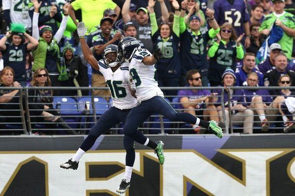 Wide receiver Tyler Lockett of the Seattle