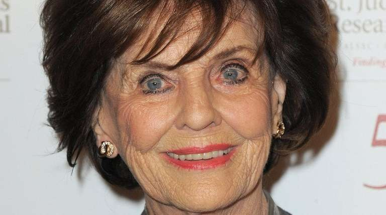 Marjorie Lord arrives at St. Jude Children's
