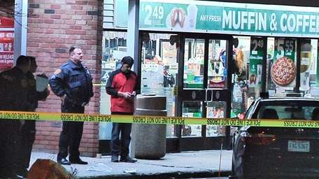 Suffolk County police investigate the death of a