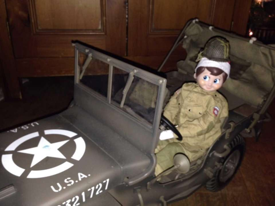 G.I. Joe Elf on the Shelf