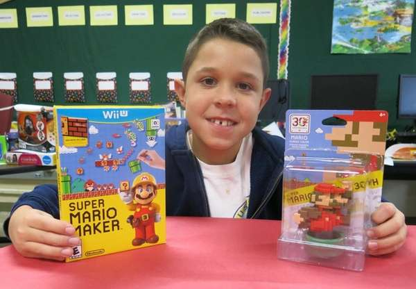 Kidsday reporter Cole Pinto tested the Super Mario