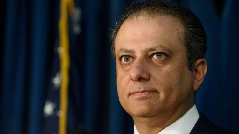 U.S. Attorney Preet Bharara, who successfully prosecuted former