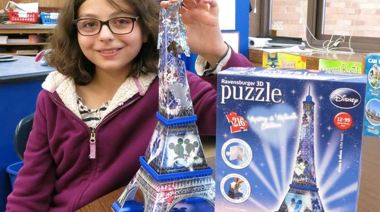 Kidsday reporter Lily Di Benedetto reviewed a Ravensburger