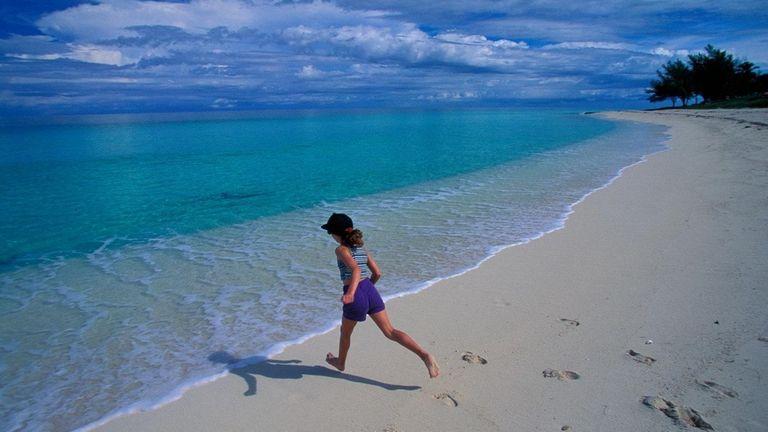 Bimini, Bahamas, features crystal water.
