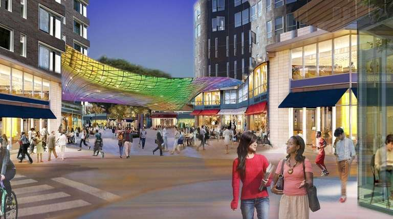 Renderings show Hempstead downtown redevelopment plans as