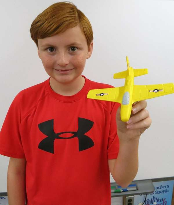 Kidsday reporter Sean Gowen reviewed Aeromax's Aerobatic Foam