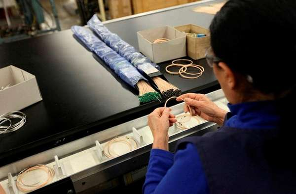 Musical instrument strings are manufactured at D'Addario