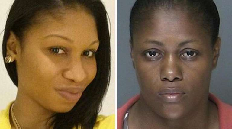Leah Cuevas, 44, right, is charged with second-degree