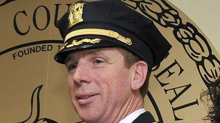 Riverhead Police Chief David J. Hegermiller was the