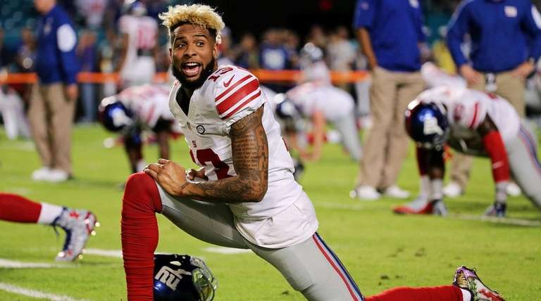 Odell Beckham Jr. of the New York