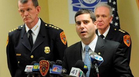 Suffolk County Deputy Police Commissioner Tim Sini, whose