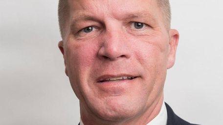 Republican Southold Supervisor Scott Russell, seen Aug. 12,