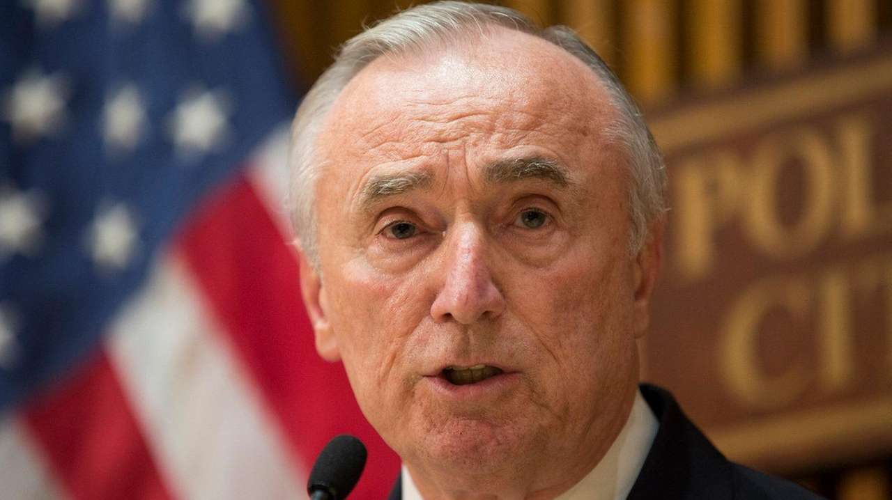 NYPD Commissioner William Bratton deemed a threat to