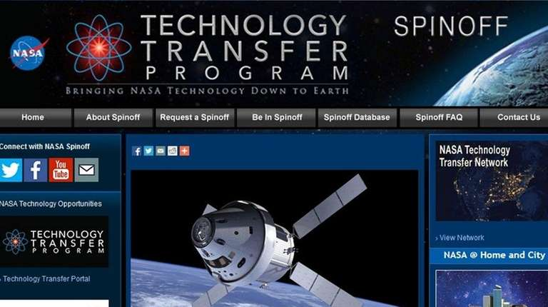 The website for NASA's Spinoff magazine tells of