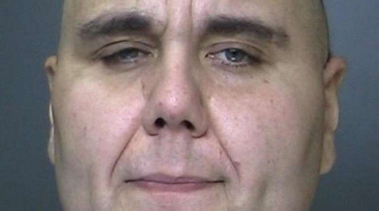 David Lemp, 38, of Center Moriches, was arrested