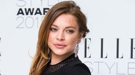 Lindsay Lohan thanked her sister for defending her