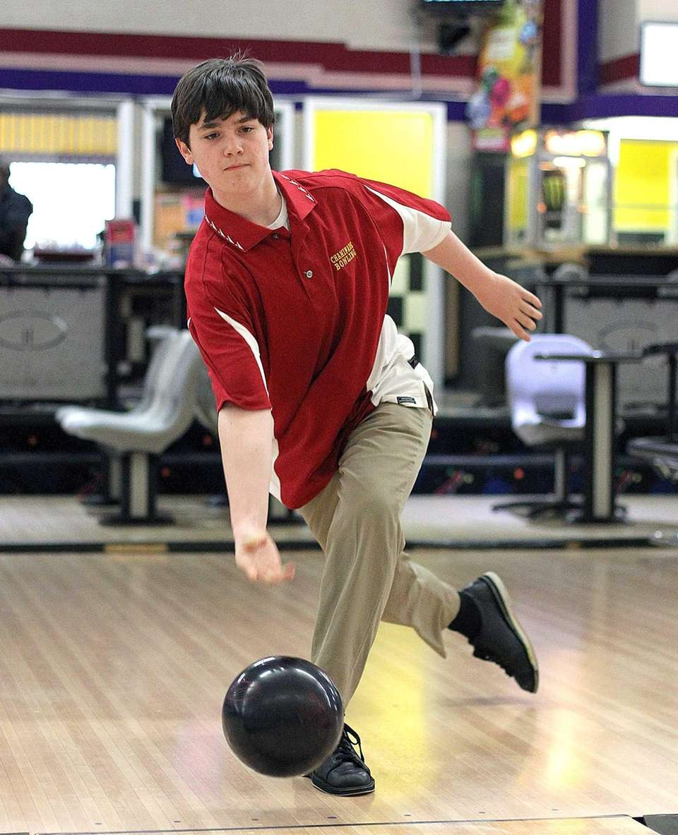 Egan rolled a 224 in Game 2 of