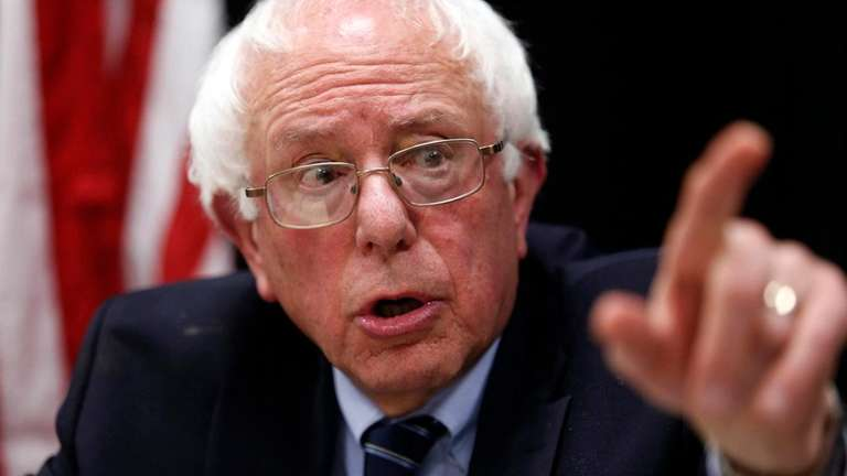 Democratic presidential candidate Bernie Sanders said, if elected,