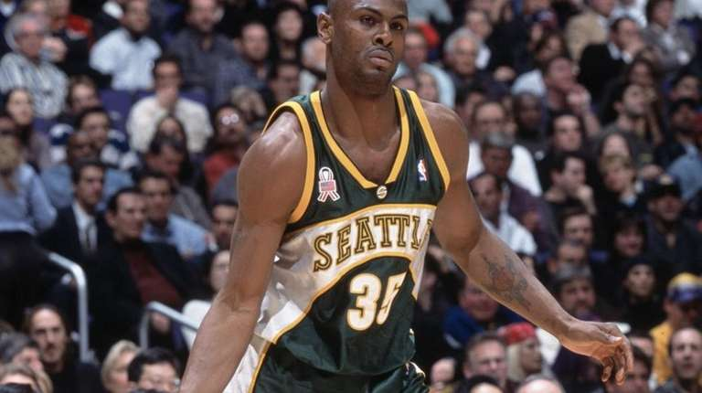 Art Long, formerly of the Seattle SuperSonics, is