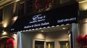 Eric's Italian Bistro in Mineola and more Long