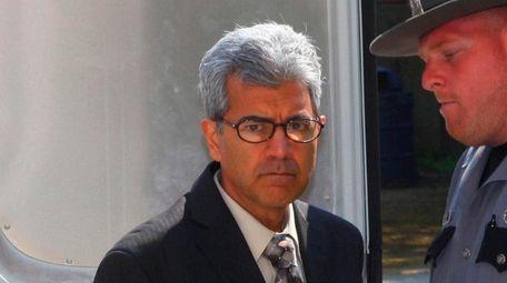 Former Bethpage pediatrician Rakesh Punn, shown above in