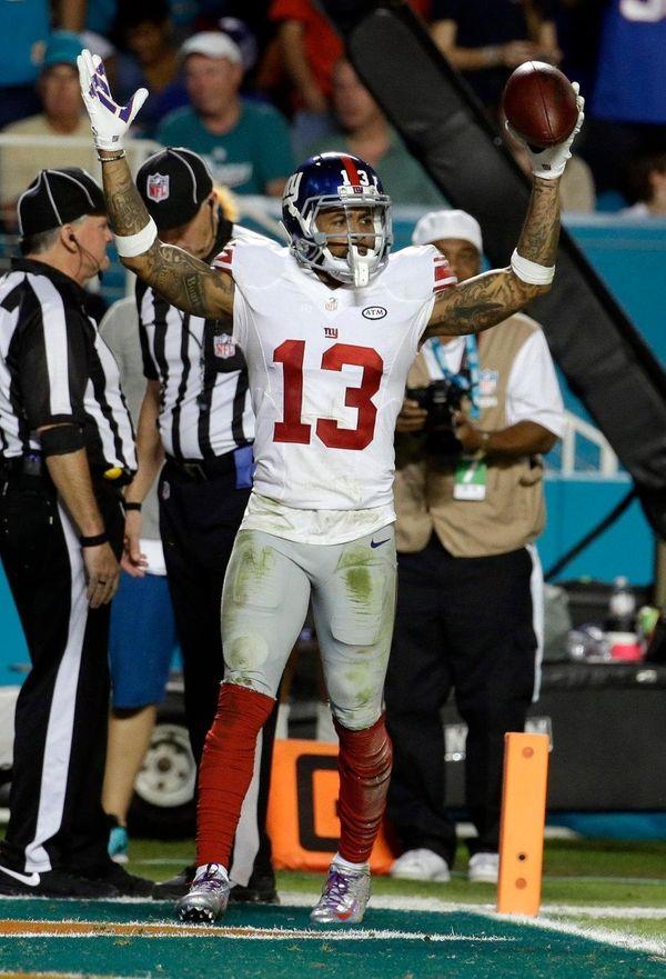 New York Giants wide receiver Odell Beckham