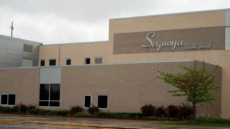 Sequoya Middle School in Holtsville is among the