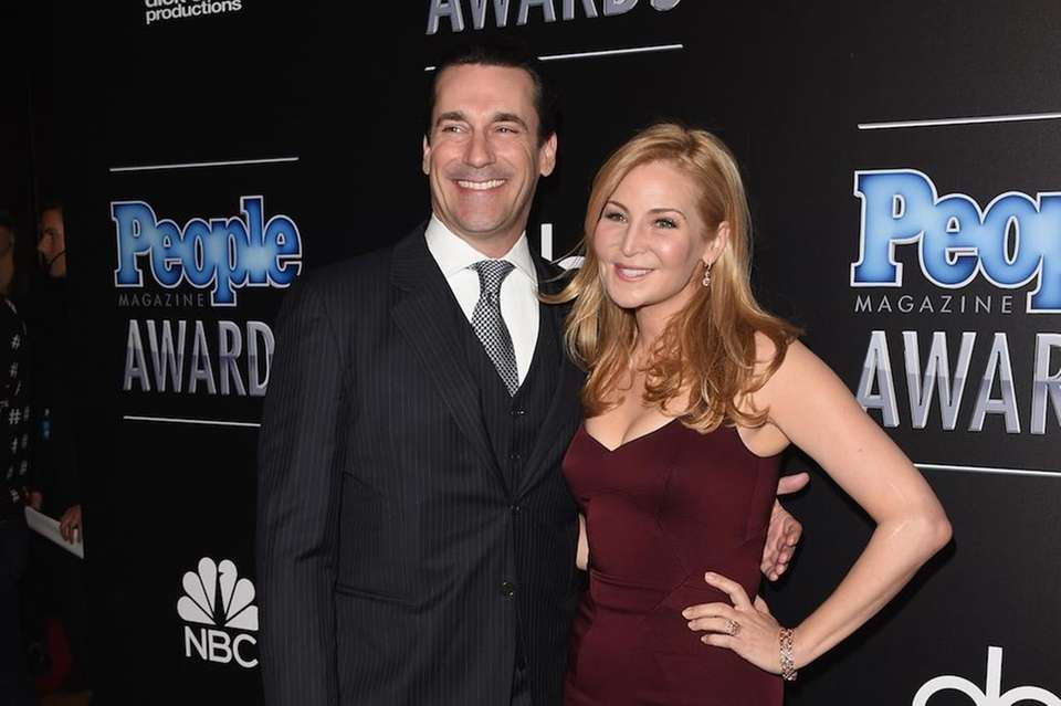 Jon Hamm and partner of 18 years Jennifer