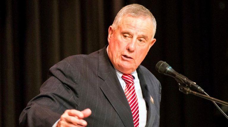 Nassau County Republican Committee Chairman Joseph Mondello speaks