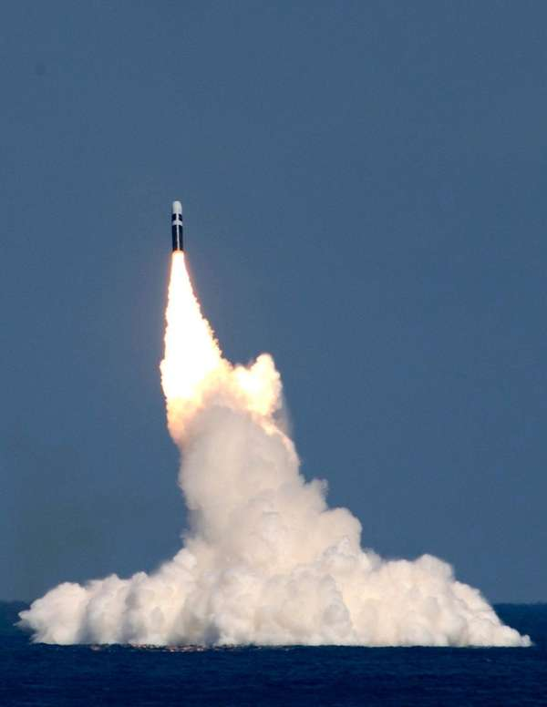 The U.S. Navy conducts a successful test flight