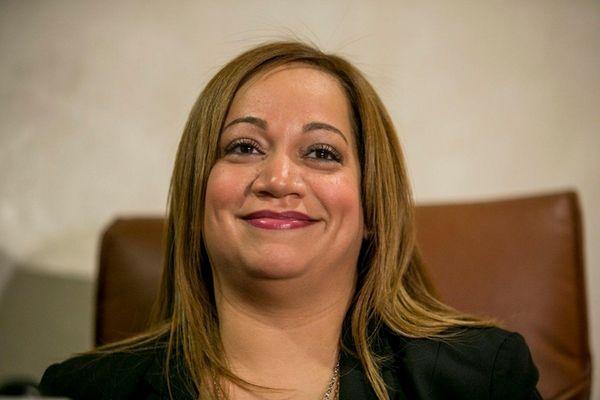 Maritza Ramos, widow of NYPD Det. Rafael Ramos,
