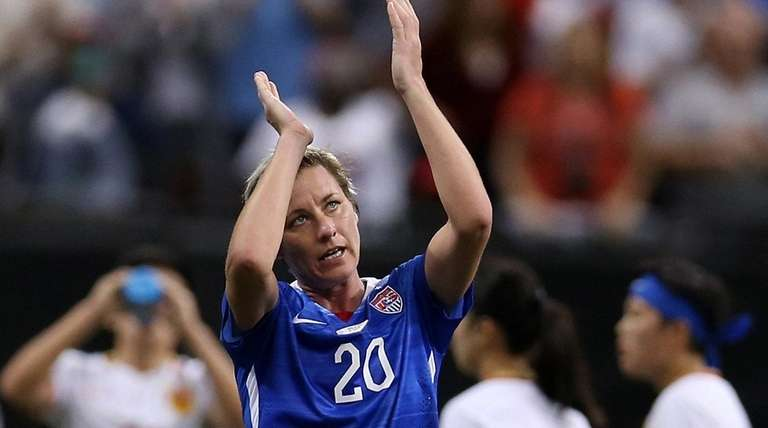 Abby Wambach #20 of the United States