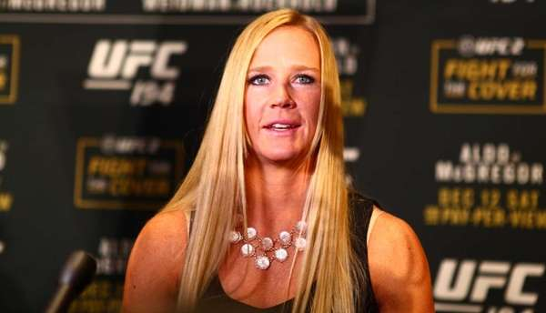 Holly Holm Will Fight Again Before Ronda Rousey Rematch