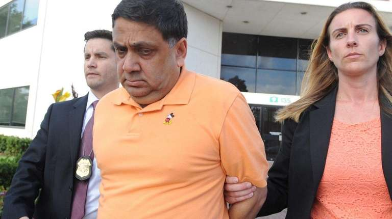Harendra Singh, seen here after his Sept. 9,