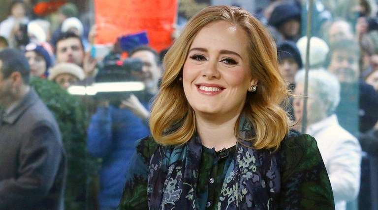In this image released by NBC, Adele appears