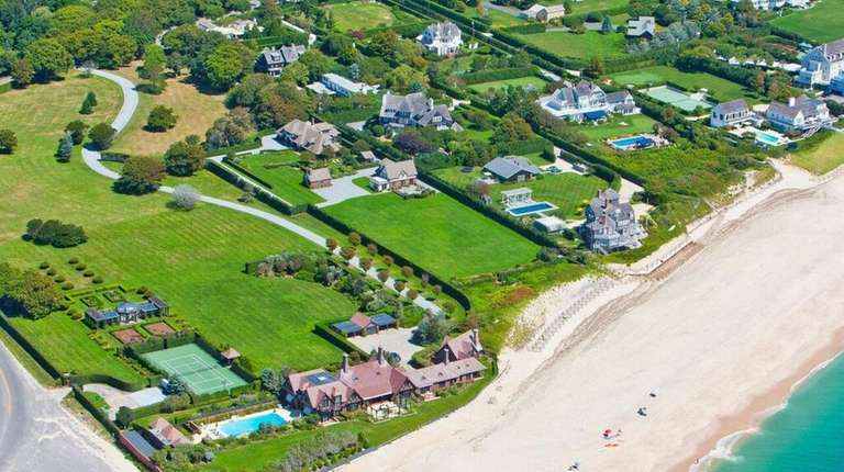 The 3.77-acre Southampton property at the center of