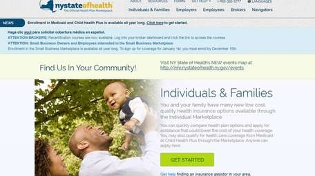 The nystateofhealth.ny.gov health care exchange was the lowest