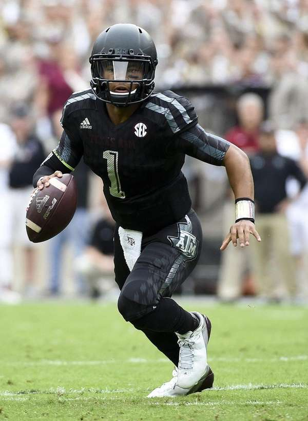 Kyler Murray of the Texas A&M Aggies