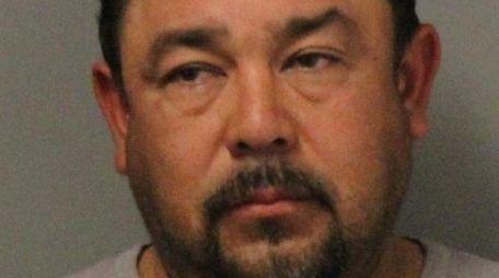 Jaime Vargas, 44, of Uniondale was arrested on