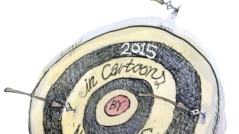 Matt Davies' cartoons of the year
