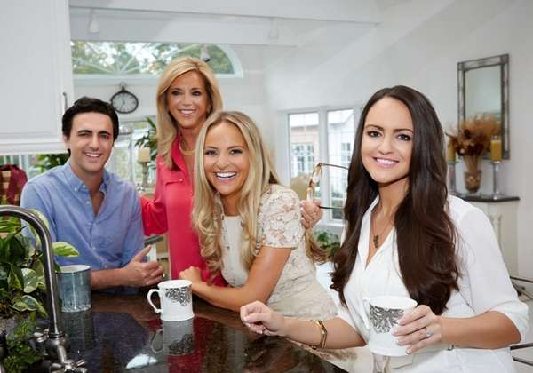 Joy Mangano at her St. James home with