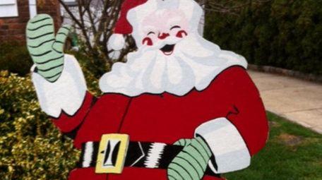The Santa decoration that Patricia Rossi found in