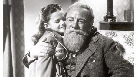 Natalie Wood and Edmund Gwenn in