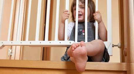 A strong child could push over a pressure-gate