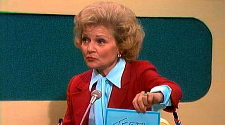 Betty White was a frequent guest on