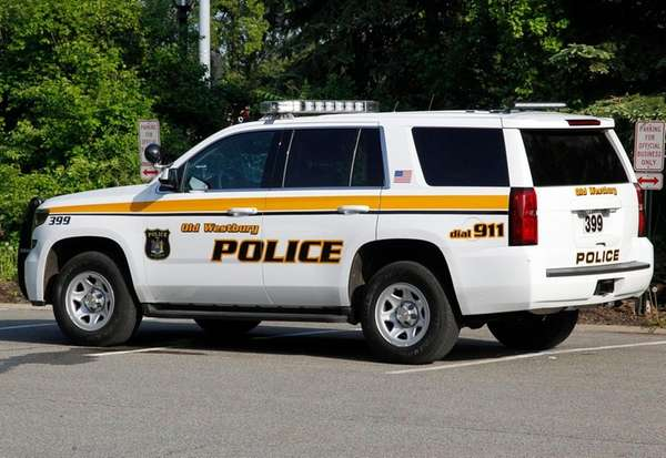 An Old Westbury police car on May 19,