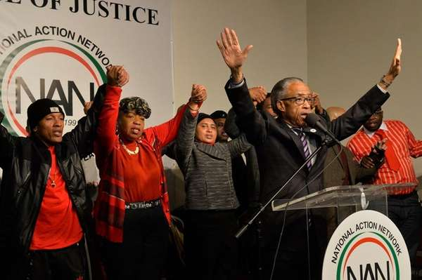 The Rev. Al Sharpton calls for changes in