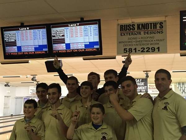The Sachem boys bowling team beat reigning