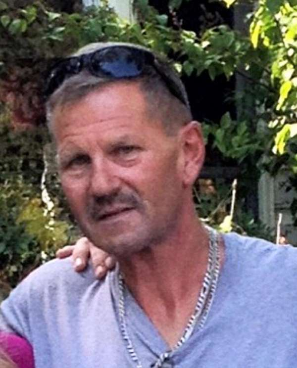 Peter Alker, 56, of Mastic Beach, was struck