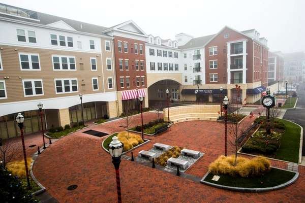 The Village Green at the New Village in